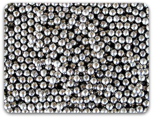 Lead Pellets Bulk ~ Nickel plated lead shot bottle ballisticproducts