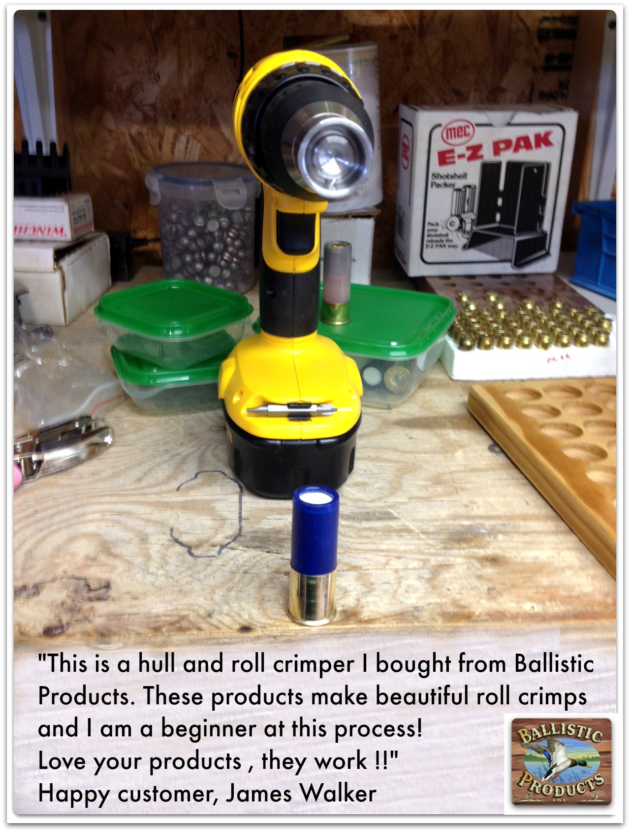 Original Roll Crimping Tool: 8 ga-ballisticproducts com