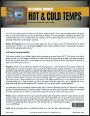 Brochure: Hot & Cold Weather