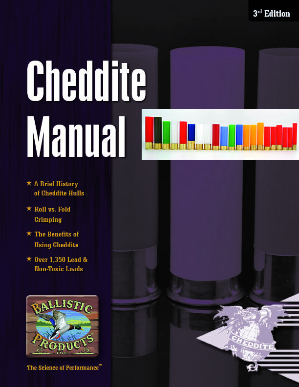 Download Cheddite Reloading Manual 3rd Edition