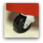 Powder Storage Container Wheels (set of 4)