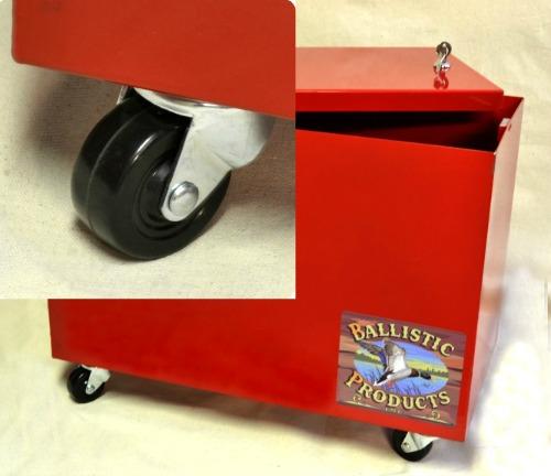 Powder Storage Container Wheels set of 4 ballisticproductscom