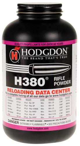 Hodgdon H380 Rifle Powder 1# - ballisticproducts com