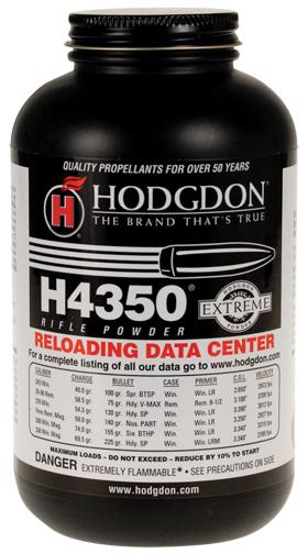 Hodgdon H4350 Extreme Rifle Powder 1#-ballisticproducts com