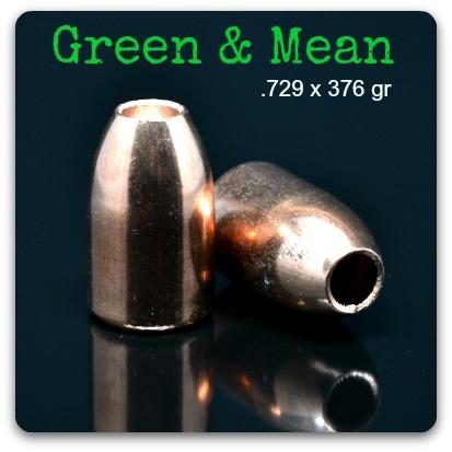 Green Slug 12ga  729 375gr (15/box) - ballisticproducts com