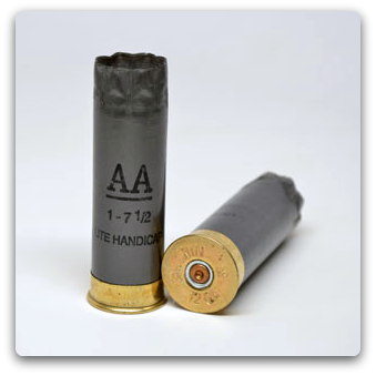 Winchester AA-HS gray 12ga 2 75 once-fired (100/bag