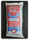 Lawrence Shot Chilled Lead  (25#/bag)