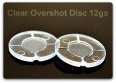 12ga Clear Overshot Disk (500/bag)