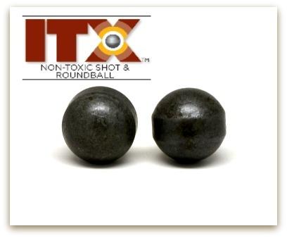 ITX  54 cal non-toxic roundball (10 balls