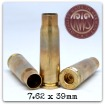 RWS Brass 7.62 x 39 Unprimed (100/bag)