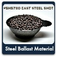 Steel Ballast/Cast Steel Shot (bag/10#)