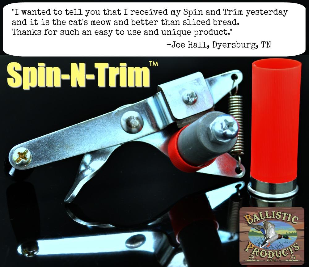 trim for roll crimping. 20ga Hull Length Trimmer video listed in description