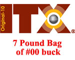 ITX Original-10 Shot #00 buck .325