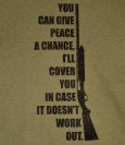 Give Peace a Chance T-Shirt (*Select your size)