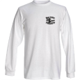 BP Logo Long-sleeve White T-Shirt