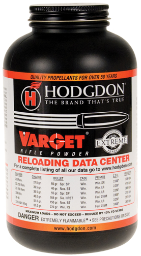 Hodgdon Varget Extreme Rifle Powder (8#Keg)