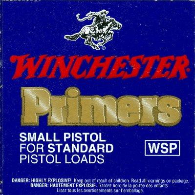 Winchester Small Pistol Primer (1000/pak