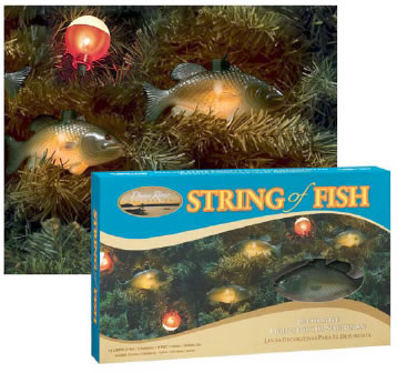 String of fish lights 10 light string for Fish string lights