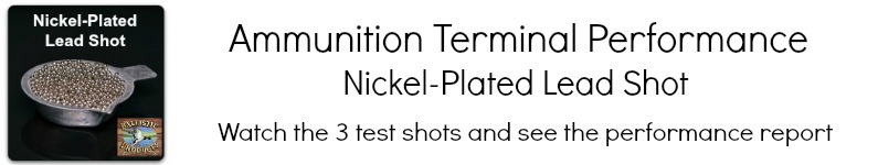 12ga Nickel Plated Lead Video