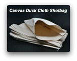 Empty Canvas Duck Cloth Bag (10/pk)