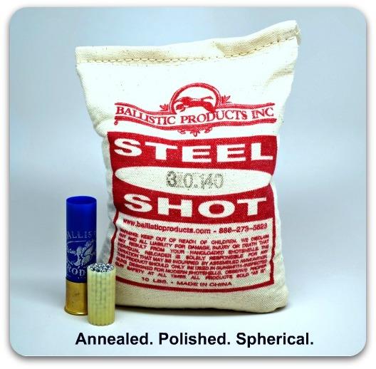 Steel Shot #F/#TTT (bag/10#) - ballisticproducts com